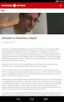 Screenshot of euronews EXPRESS