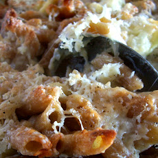 Macaroni Cauliflower and Cheese