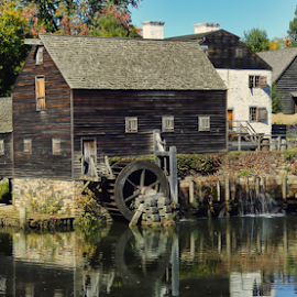 Sleepy Hollow by Peter Campbell - Buildings & Architecture Public & Historical ( history, philipsburg manor, nature, horseman, sleepy hollow, headless )