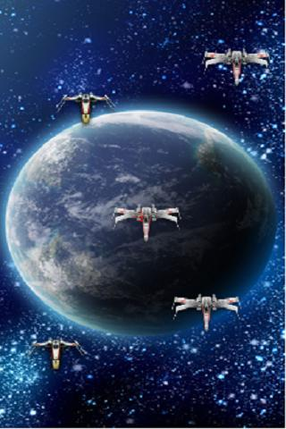 X-Wing Live Wallpaper