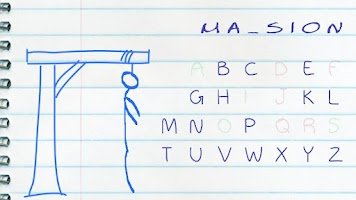 Screenshot of Paper Hangman Free (English)