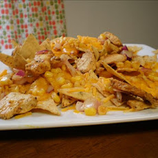 Lime Chicken Nachos