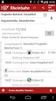 Screenshot of Rheinbahn