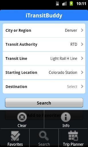 iTransitBuddy RTD Light Rail