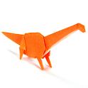 Origami Dinosaur 12 icon