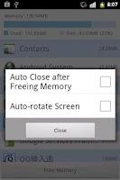 Screenshot of Memory Cleaner