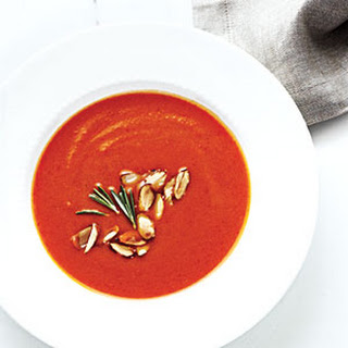 Creamy Pumpkin-Red Pepper Soup