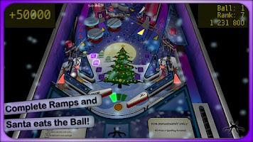 Screenshot of Xmas Pinball