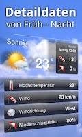 Screenshot of wetterheute.at Österreich