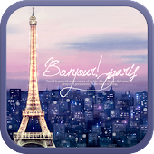 Paris go launcher theme