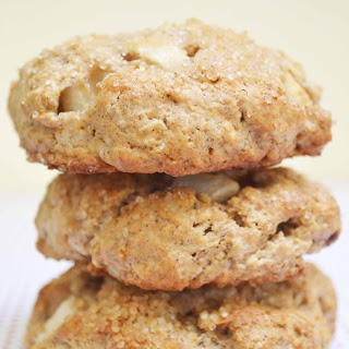 Whole Wheat Oat Maple and Apple Scones