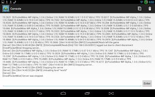 Screenshot of Pocketmine Server (2.3)