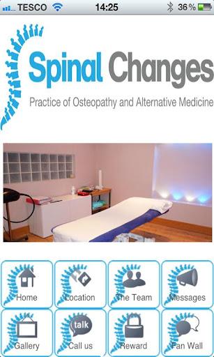 玩健康App|Spinal Changes Osteopath免費|APP試玩