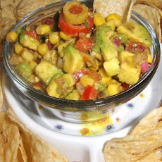Fit for a Queen Avocado Salsa!