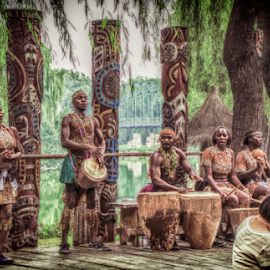 Welcome to Afrika by Fahad Iqbal - People Musicians & Entertainers ( music, hdr, candid, group, africa, entertainer, street photography )