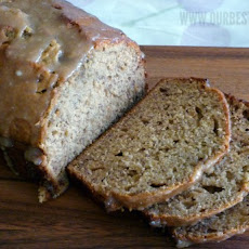 Caramelized Banana Bread with Browned Butter Glaze