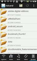 Screenshot of LogiCloud