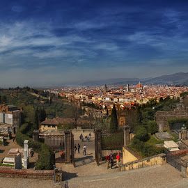 Florence,Italy by Petros Sofikitis - Landscapes Travel ( sky, view, landscape, italy, city )