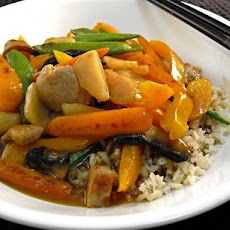Honey Pork Stir-Fry