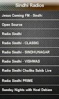 Screenshot of Sindhi Radio Sindhi Radios