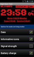 Screenshot of Night Alarm Clock