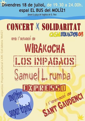 Concert x Solidaritat