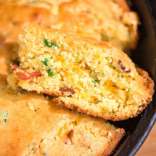 Cheddar, Bacon, and Scallion Cornbread