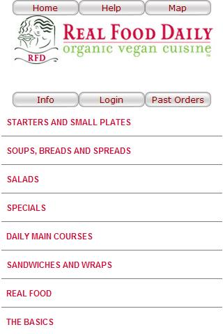Real Food - Mobile Ordering