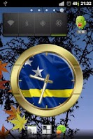 Screenshot of Curacao flag clocks