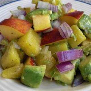 Avocado and Fruit Salad