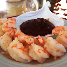 Perfect Boiled Shrimp and Cocktail Sauce