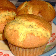Easy Lemon Poppy Seed Muffins