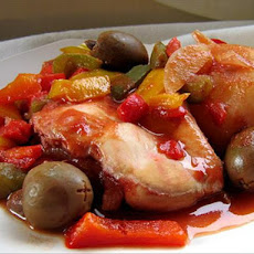 Slow Cooker Chicken With Olives
