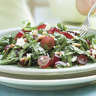 Spinach-Grape Chopped Salad