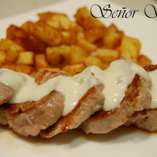 Pork Tenderloin with Blue Cheese