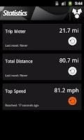 Screenshot of HUD Speedometer