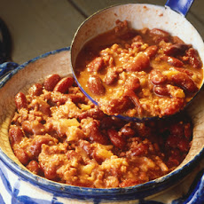 Skillet Pork Chili with Beans