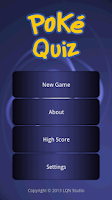 Screenshot of Poke Quiz - I generation