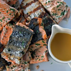 Salmon with Citrus Dressing