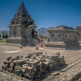 Age Building by Arifin Noviyadi - Buildings & Architecture Statues & Monuments ( history, monuments, building, dieng, candi, arjuna, place, rocks )