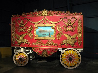 Circus wagon