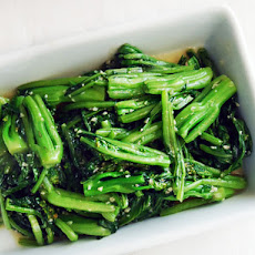 Stir-Fried Choy Sum With Minced Garlic