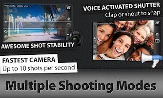 Screenshot of Camera ZOOM FX More Composites