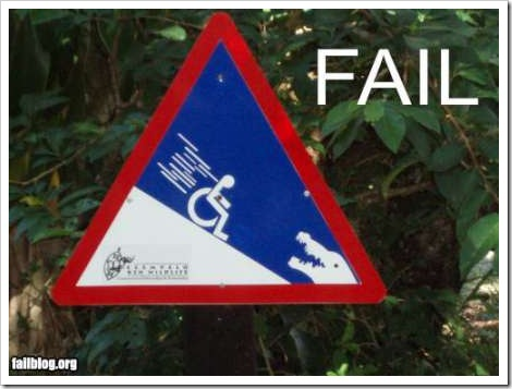 FAIL - Funny sign picture.