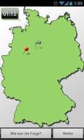 Screenshot of Wo ist der Ort? (Dtld-Quiz)