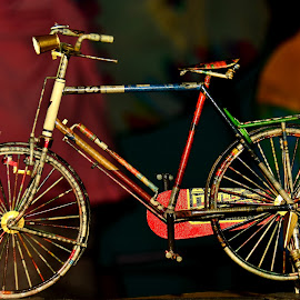 100% Made of Paper by Idda Purwaningtiyas - Transportation Bicycles