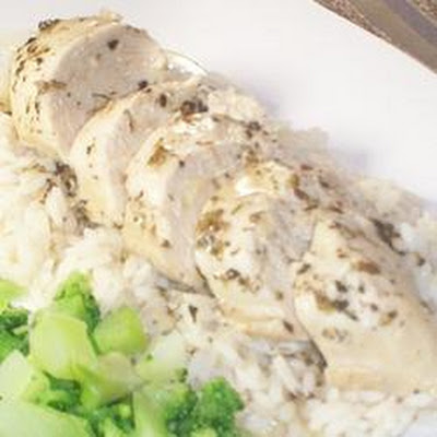 Moist Garlic Chicken