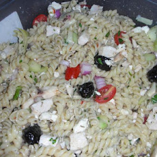 Greek Bowtie Pasta Salad