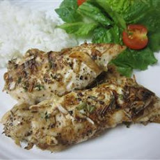 Tender Onion Baked Chicken