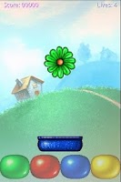 Screenshot of Drop Flowers